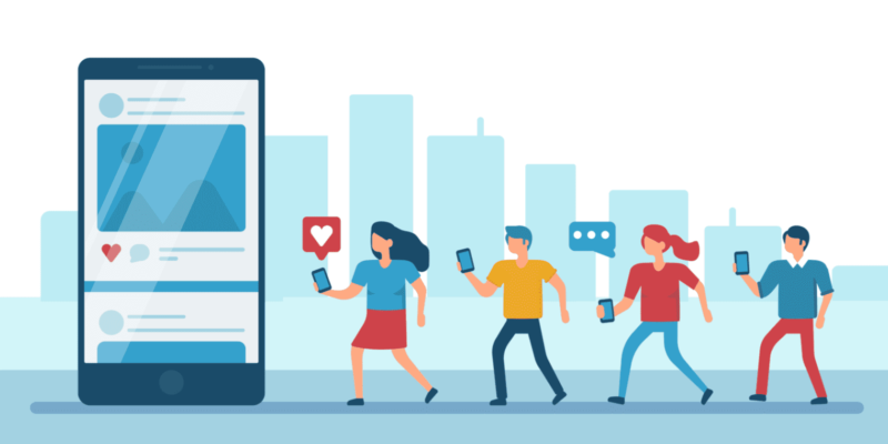 The role of social media in building trust for the brand