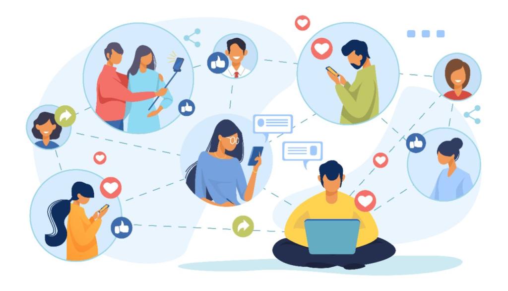 community on social media