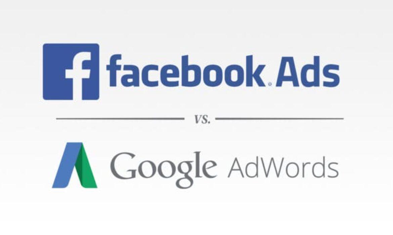 Google AdWords Vs Facebook Ads